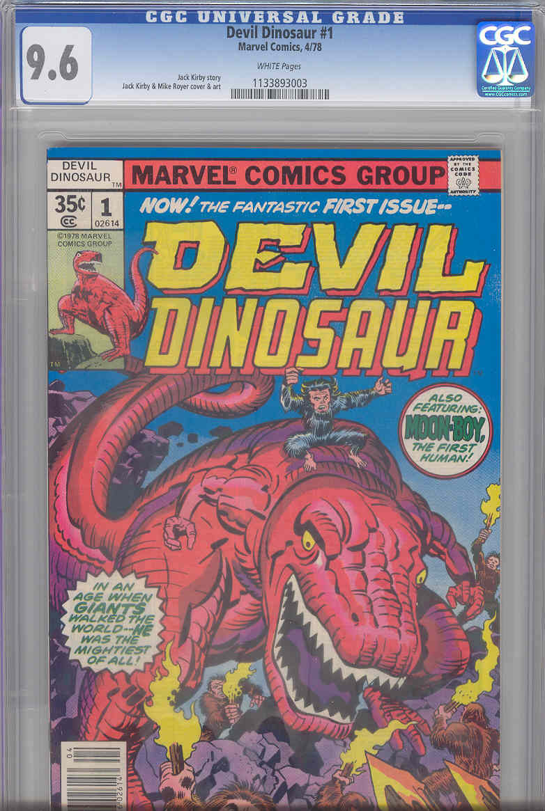 Why the hell would anyone have this comic graded? Tell me, please. I can understand why you'd have something that was actually valuable, like an Action #1 or an Amazing Fantasy #15 graded, but I will bet you money that I can walk into any comic book store in this entire country that has a decent selection of back issues and get this in good condition for two dollars or less.